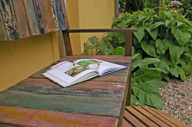 Garden Bench & Gravel